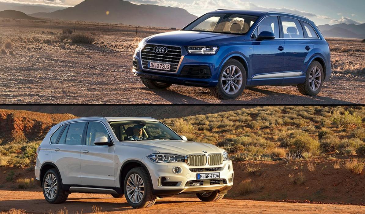 ¿Cuál es mejor, BMW X5 o Audi Q7?