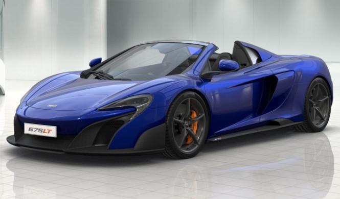 Ya puedes configurar tu McLaren 675LT Spider por Internet