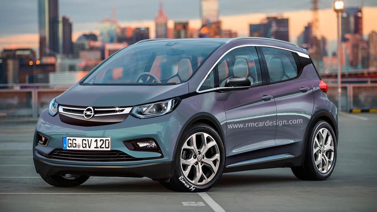 ¿Así será el rival de Opel para el BMW i3?