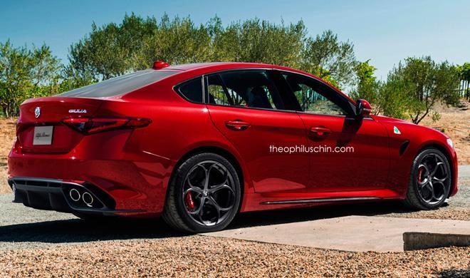 ¿Así podría ser el Alfa Romeo Giulia Fastback?