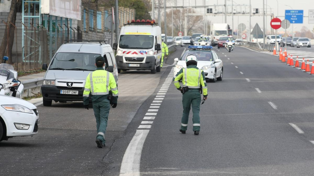control guardia civil