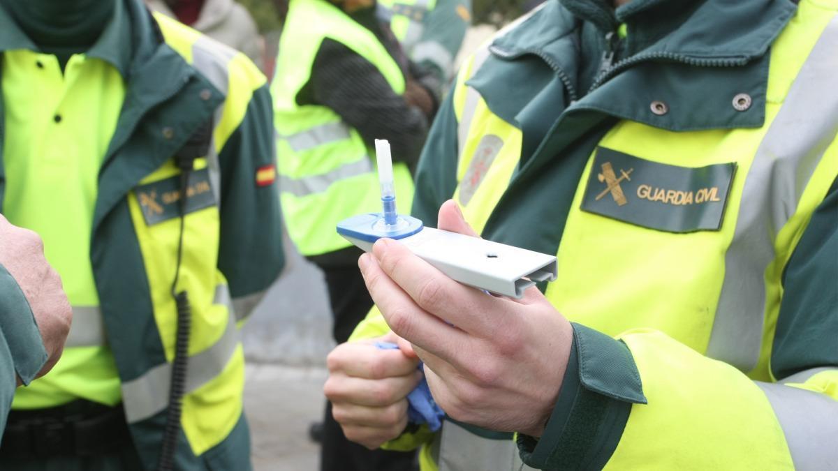 Guardia Civil te hará pasar también por el test de drogas