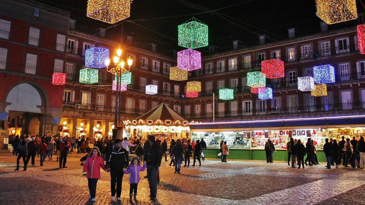 Los 10 mejores mercadillos navide os de espa a - Mercado de navidad en madrid ...