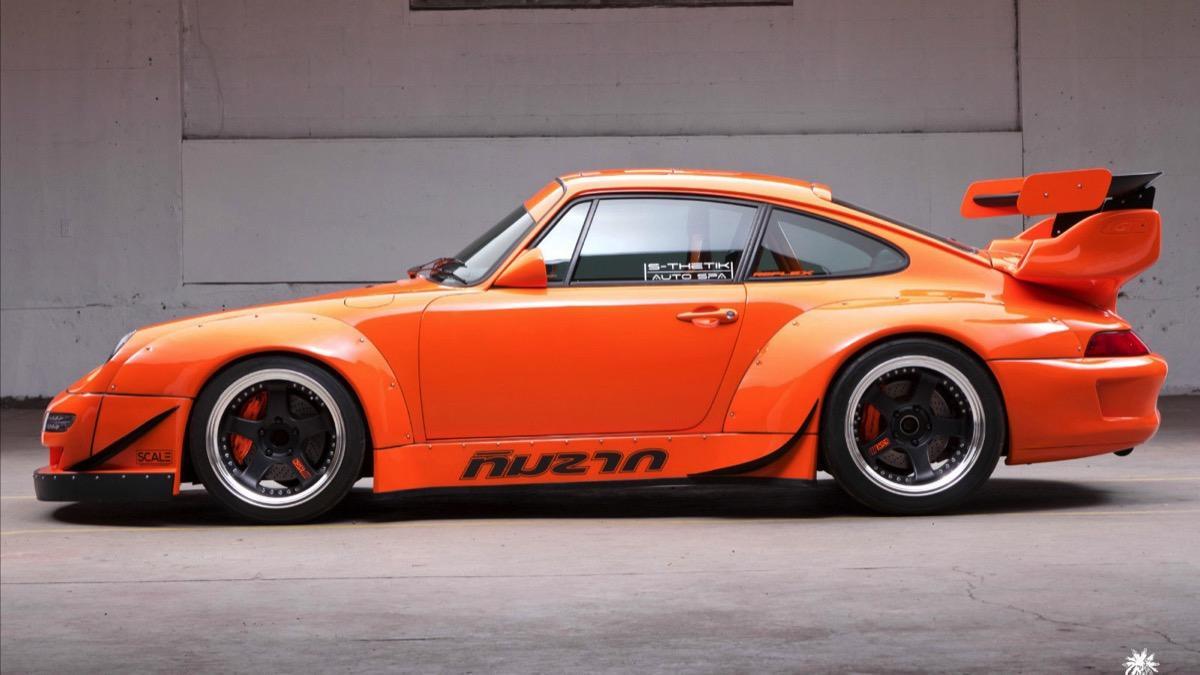Porsche 911 993 lateral
