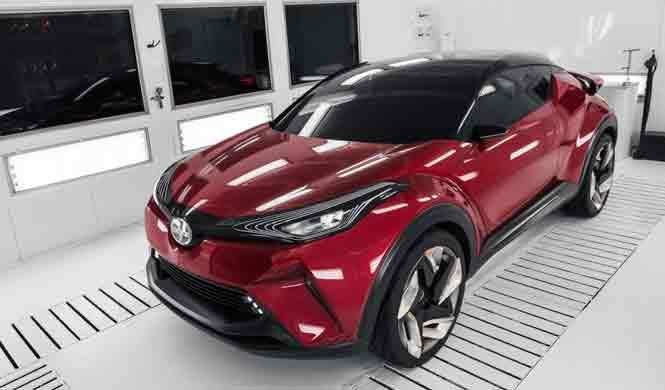El Scion C-HR de producción podría debutar en Detroit