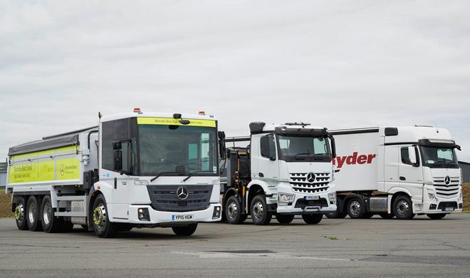 A los camioneros les preocupa la seguridad y la eficiencia