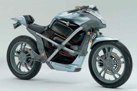 Suzuki planea fabricar su primera moto de hidrógeno
