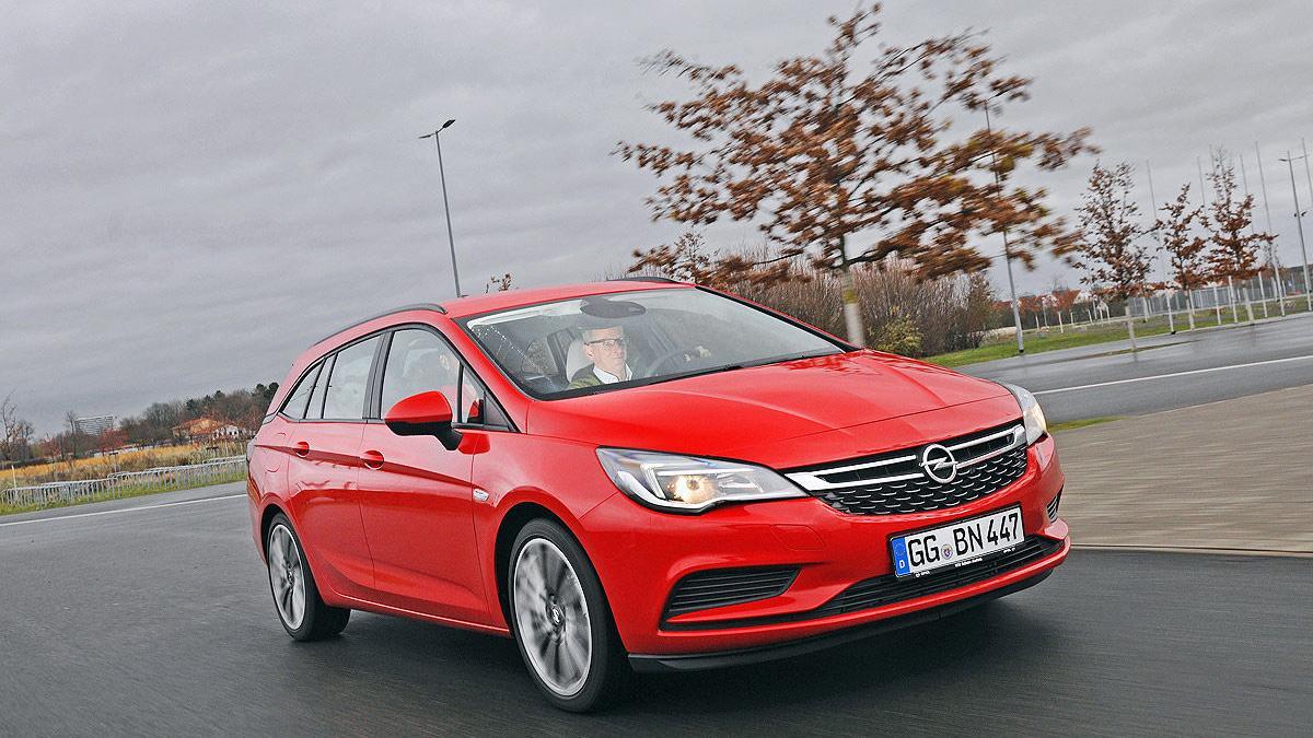 Primera prueba: Opel Astra Sports Tourer