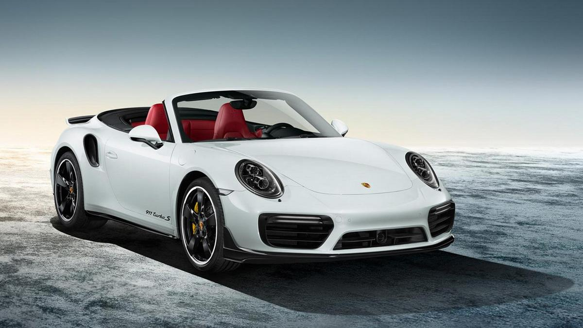 Porsche Exclusive 911 2015 turbo cabrio blanco