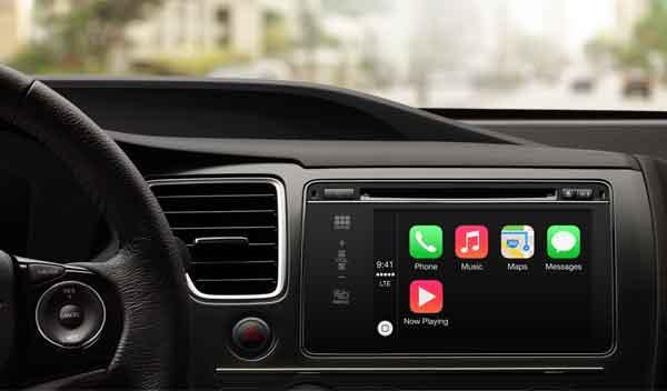 Apple CarPlay: usa el iPhone desde la pantalla de tu coche