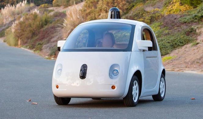 El coche de Google, en su versión definitiva de producción