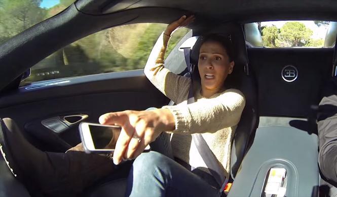 Las divertidas reacciones que provoca el Bugatti Veyron