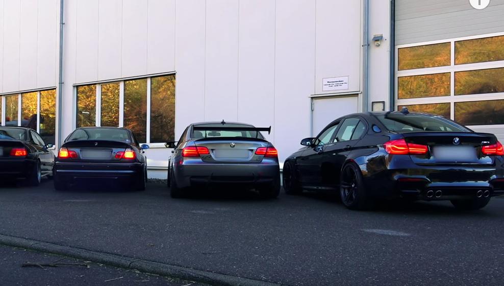Vídeo: así suenan las cinco generaciones del BMW M3
