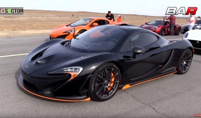 McLaren P1 vs 650S: duelo entre hermanos