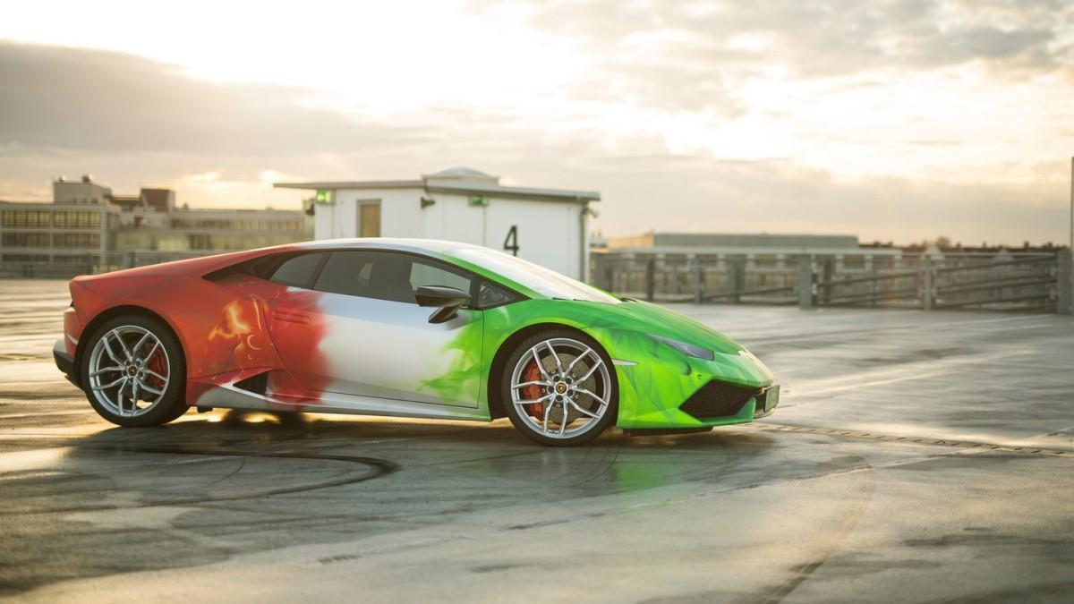 Lamborghini Huracán by Print Tech