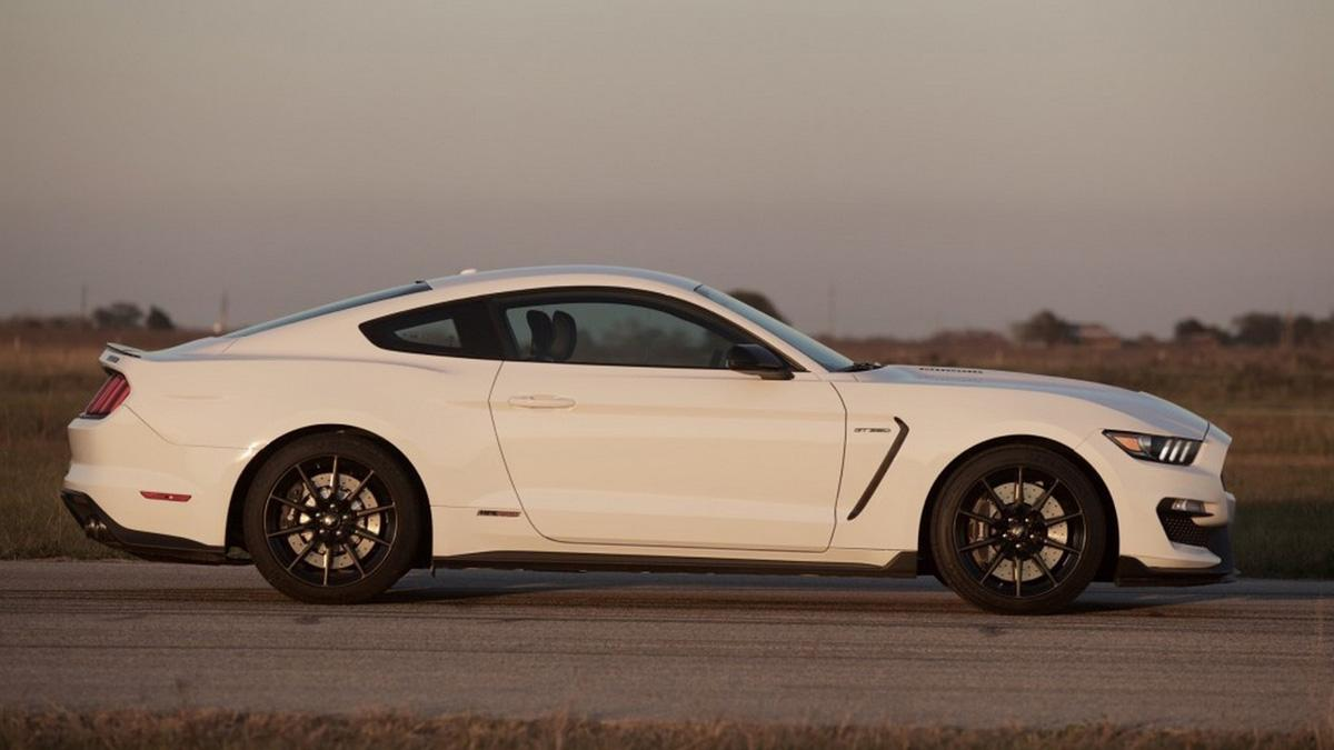 Ford Mustang gt350 Hennessey HPE575 lateral