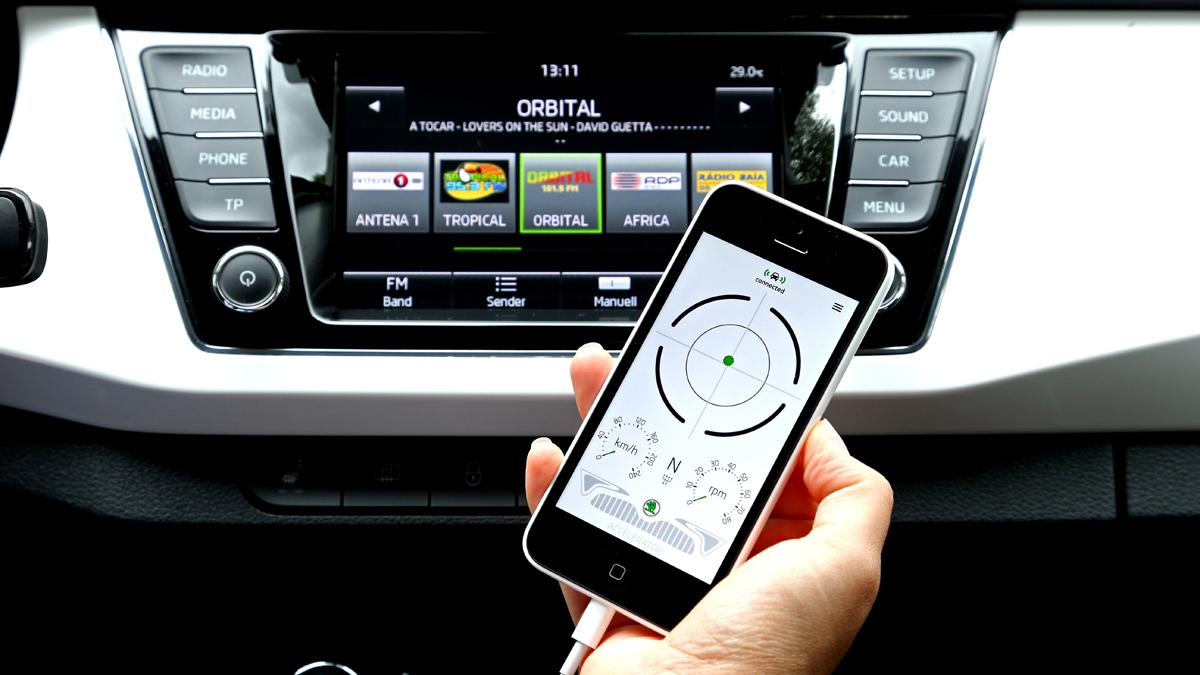 El sistema Skoda SmartGate recibe el Premio Connected Car