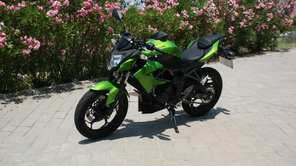 Prueba-Kawasaki-Z250-SL