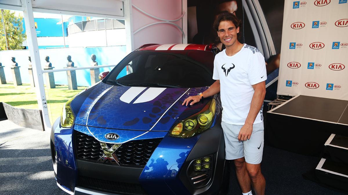 Rafa Nadal Kia sportage x-men