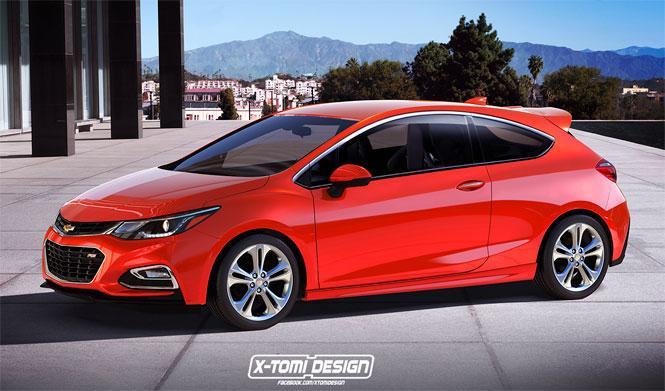 El Chevrolet Cruze Hatchback 2017 podría tener versión RS