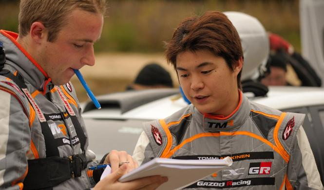 Toyota GAZOO Racing Challenge, o como entrenar con Mäkinen