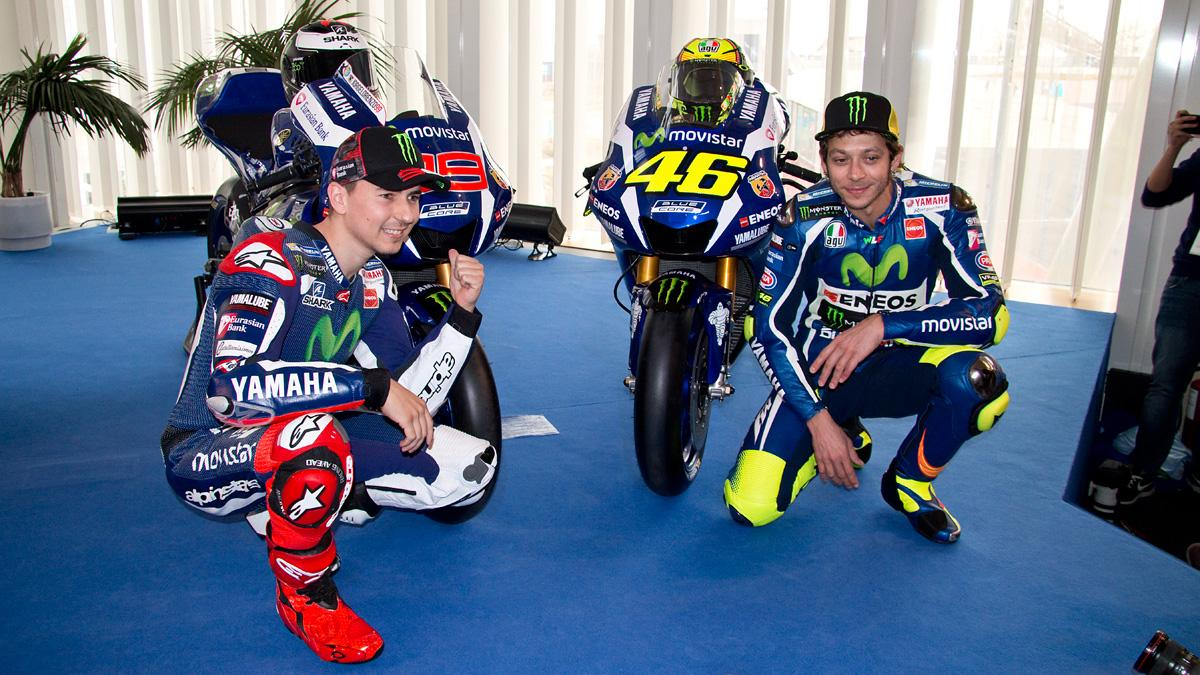 Yamaha MotoGP 2016 lorenzo Rossi