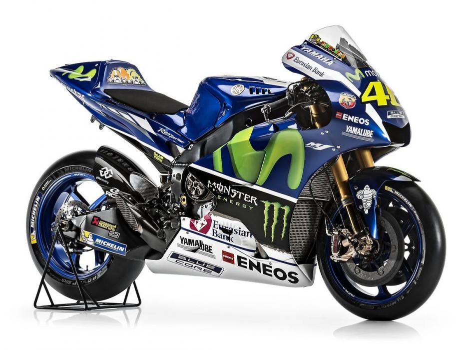 Vídeo: Así es la Yamaha YZR-M1 de Rossi y Lorenzo para 2016