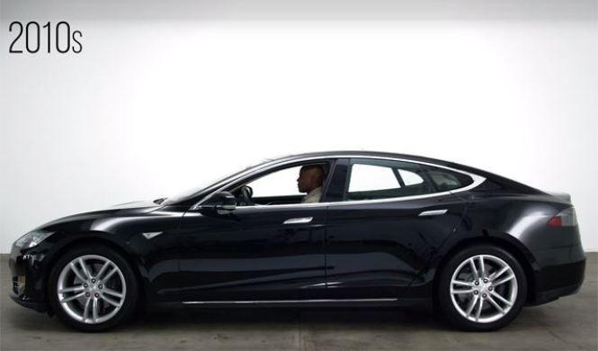 Vídeo: 100 años de coches en cuatro minutos