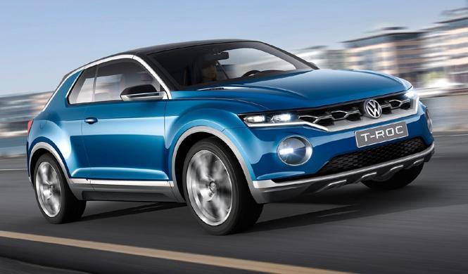 Volkswagen podría presentar un SUV pequeño en Ginebra