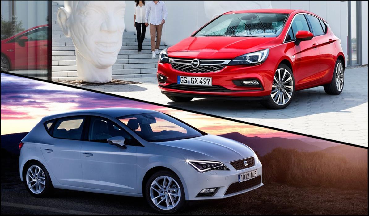 ¿Cuál es mejor, Opel Astra 2016 o Seat León?