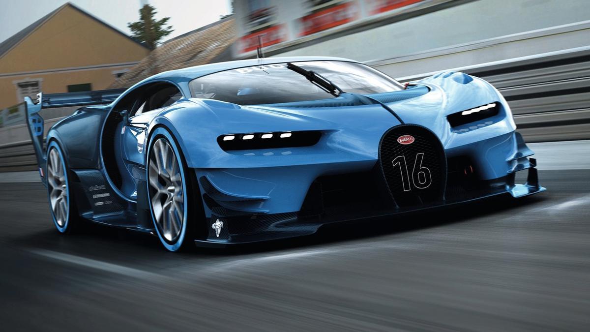 Así podría ser el Bugatti Roadster del futuro
