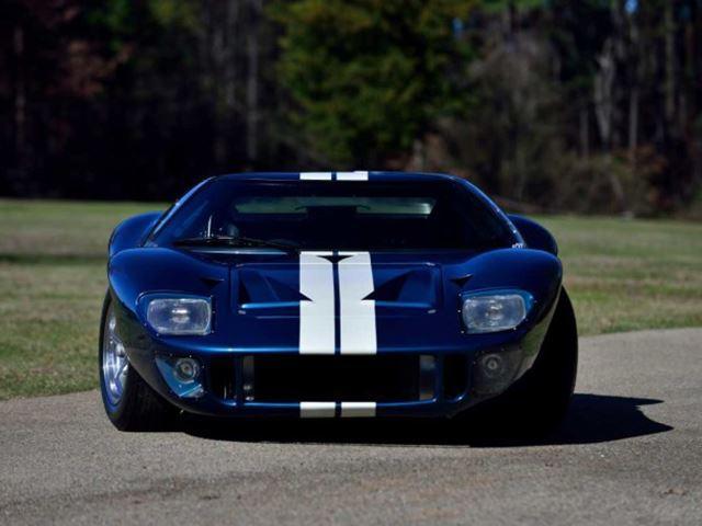 Ford GT de 'A todo gas' frontal