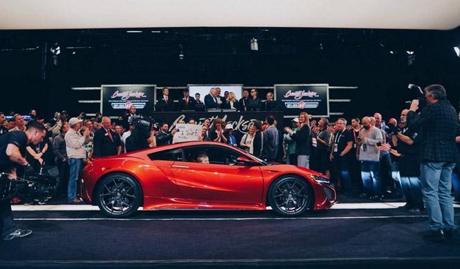 Vendido el primer Honda NSX por más de un millón de euros