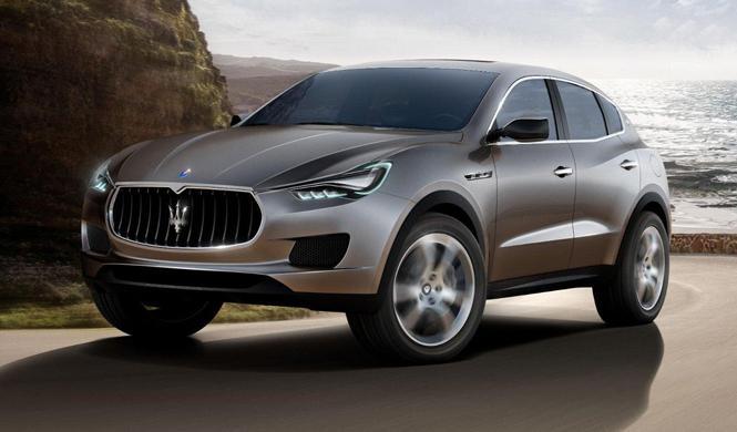 El Maserati Levante debutará en el Salón de Detroit 2016