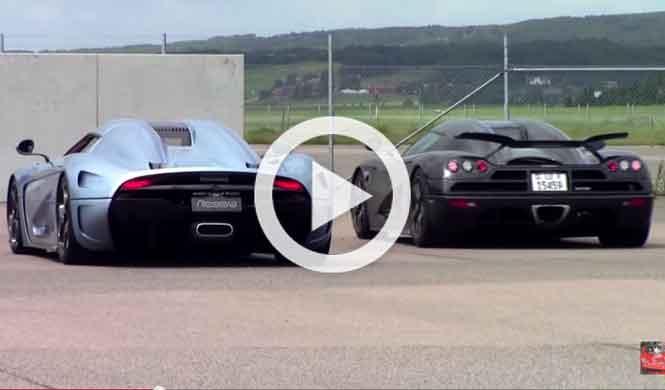 Vídeo: las increíbles armas del Koenigsegg Regera