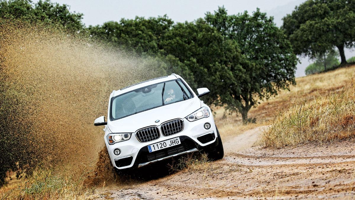 Prueba: BMW X1 2015 barro