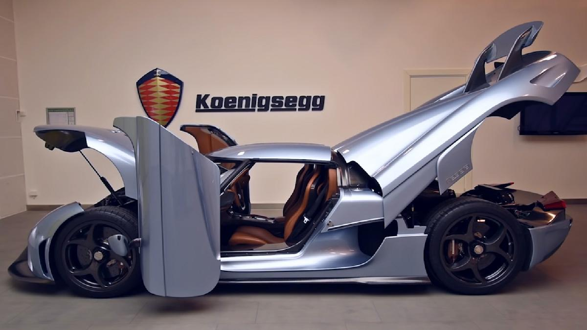 Así funciona el sistema Autoskin del Koenigsegg Regera
