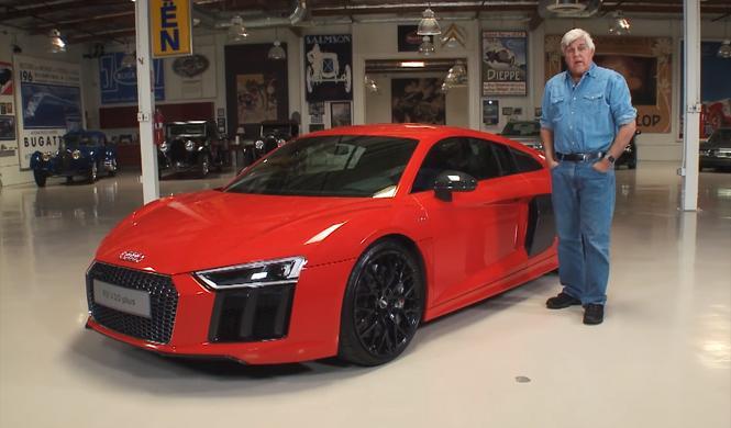 Descubre el nuevo Audi R8 V10 plus de la mano de Jay Leno