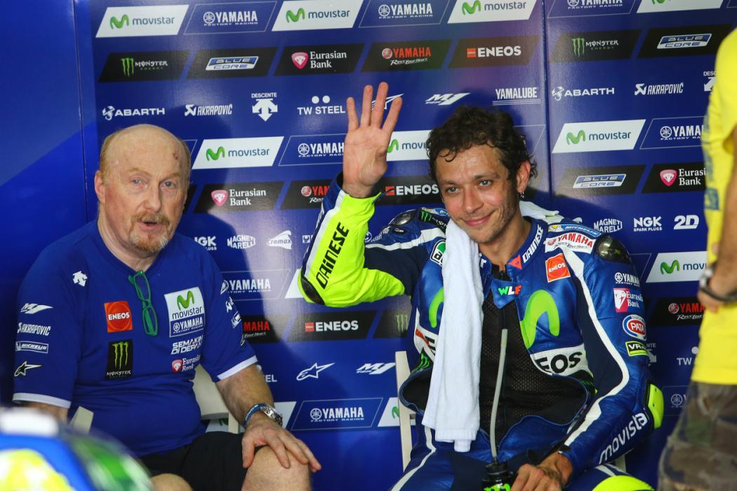 """Valentino Rossi: """"Todavía puedo ser más rápido"""""""