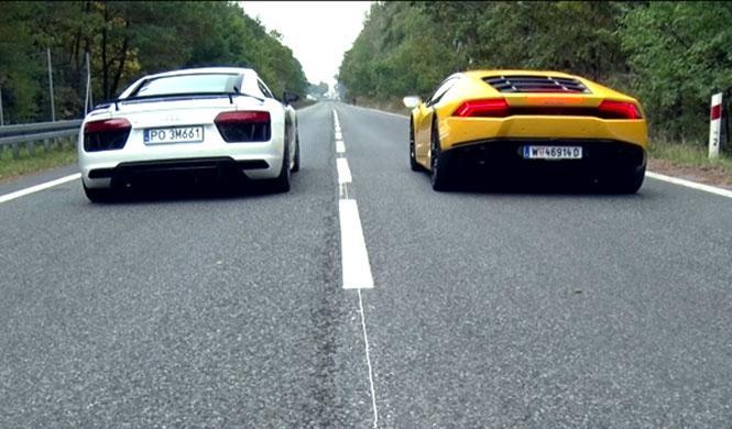 Audi R8 V10 Plus vs. Lamborghini Huracan: cara a cara