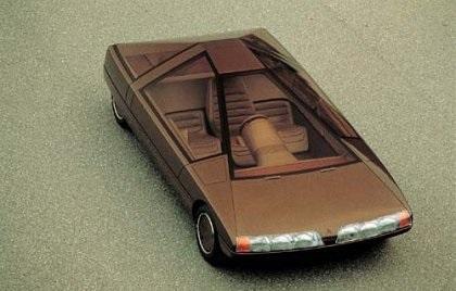 Citroën Karin: el coche piramidal