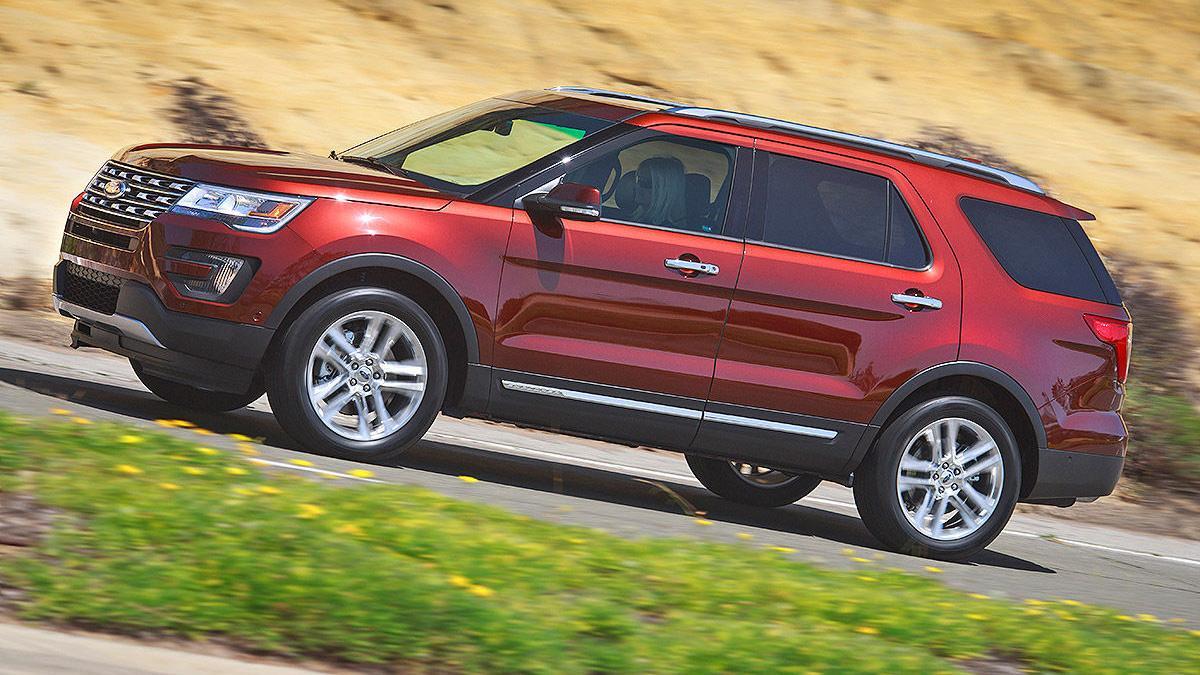Prueba: Ford Explorer 2016