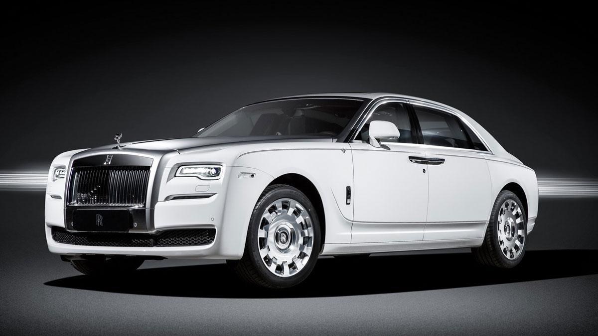Rolls Royce Ghost Eternal Love
