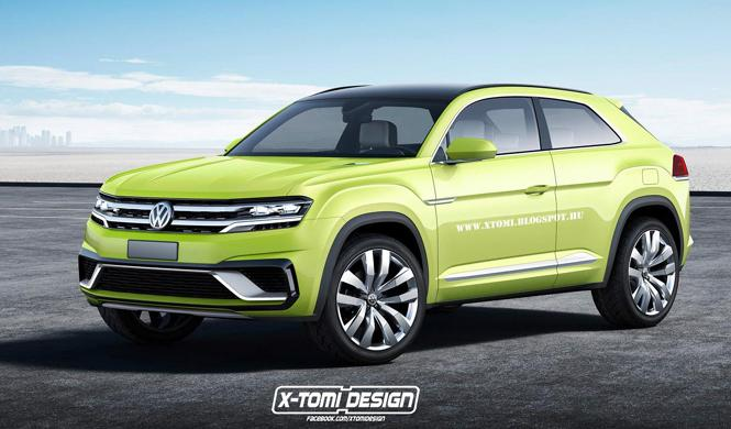 Volkswagen lanzará un Tiguan de siete plazas y otro coupé