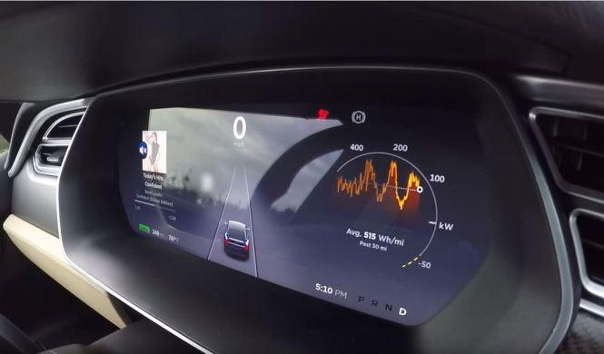 Así acelera el Tesla Model X P90D