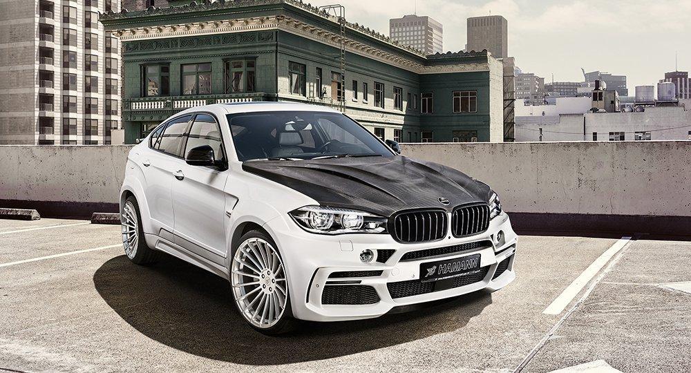 Hamann BMW X6 M50d tres cuartos delanteros