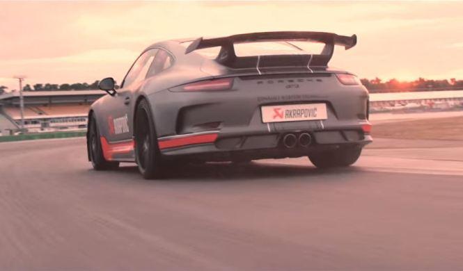 Vídeo: nuevo escape Akrapovic para el Porsche 911 GT3