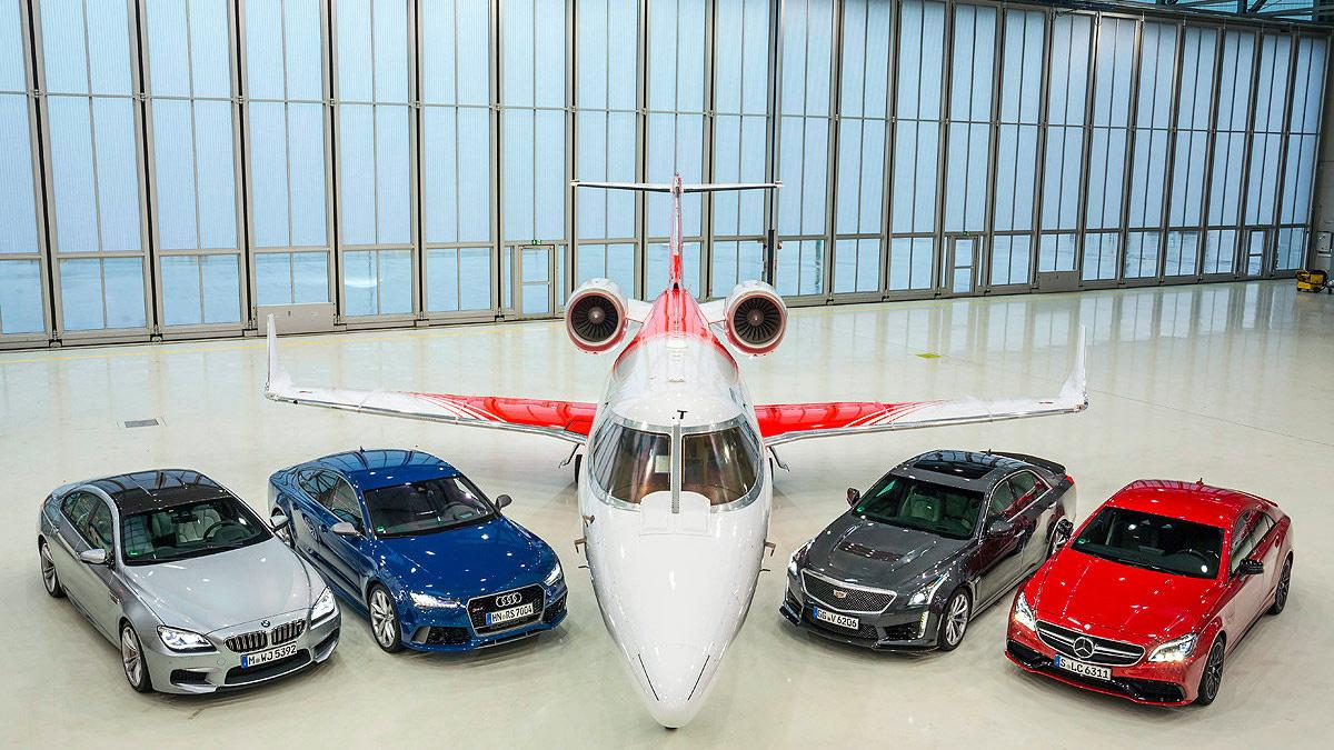 Duelo: Cadillac CTS-V/Audi RS 7/BMW M6/ Mercedes-AMG CL