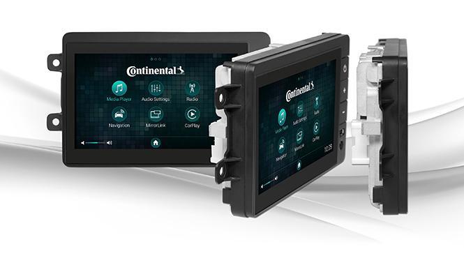 Radio para el coche Continental