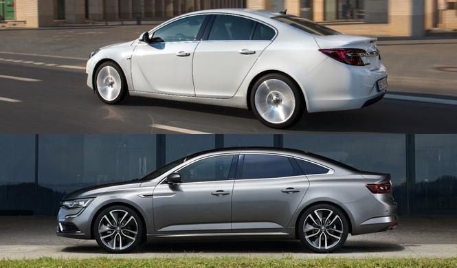 ¿Cuál es mejor, el Renault Talisman o el Opel Insignia?